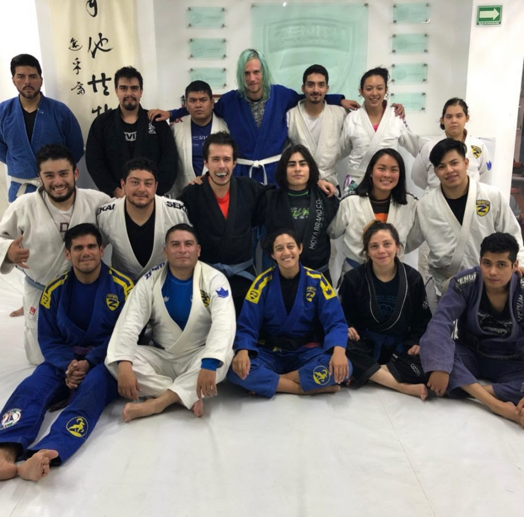 My last consistent gym I joined in Mexico City, 2019 - Promahos BJJ